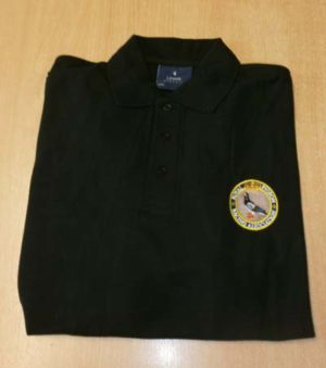 RPRA Logo Polo Shirt, Black