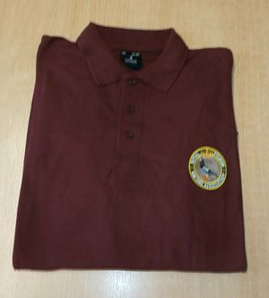 RPRA Logo Polo Shirt, Burgandy