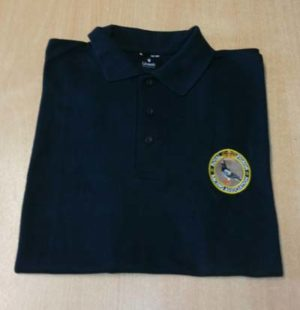RPRA Logo Polo Shirt, Navy