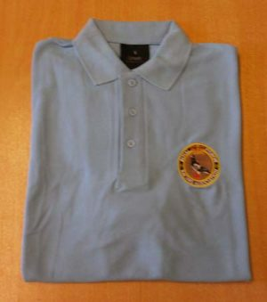 RPRA Logo Polo Shirt, Sky Blue