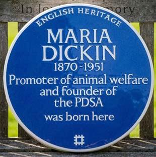 Dickin Blue Plaque